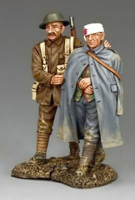 """King And Country  Ww1 British Fw166 """"wounded Prisoner & Escort""""  (Reduced )"""