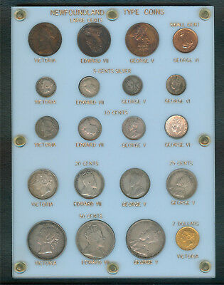 Newfoundland 20-pc Type Set in Old Capital® Holder