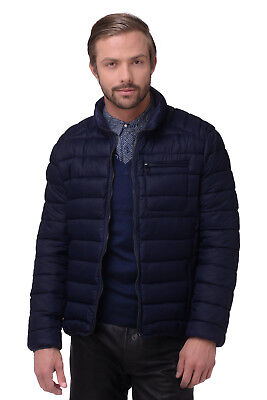 RRP €276 CERRUTI 18CRR81 Size 56 / XXL Men's Padded Stand-Up Quilted Jacket