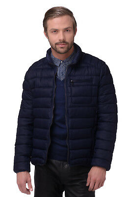 RRP €276 CERRUTI 18CRR81 Size 54 / XL Padded Stand-Up Collar Quilted Jacket