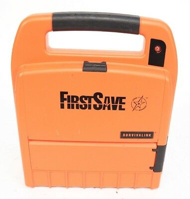 FirstSave Survivalink AED 9200 Automated External Defibrillator w/ Battery