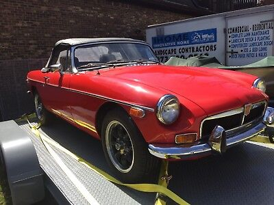 1974 MG MGB  MGB Roadster - 2 owners from new - 9600 original miles