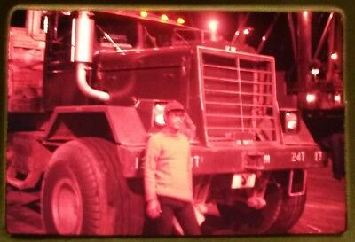 Vietnam Slide- 2 Tour Army GI with 18TH ENGINEER BRIGADE collection 1966-70 #47