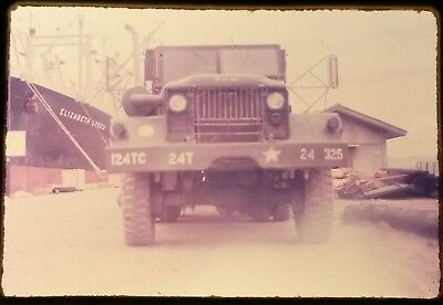 Vietnam Slide- 2 Tour Army GI with 18TH ENGINEER BRIGADE collection 1966-70 #49