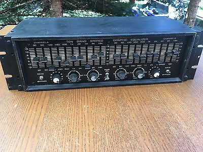 Peavey 2 x 10 Band Graphic Equalizer Vintage