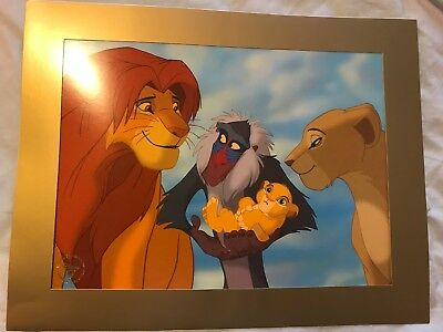 Disney Store Lithograph - The Lion King - 2003 Collectors Lithograph (Genuine)