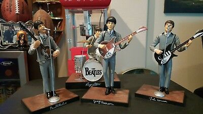 Complete set of Beatles figures released in 1991 by Hamilton Gifts