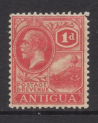 ANTIGUA  1929  1d bright scarlet  wmk MCCA  SG65  MM  CV£42