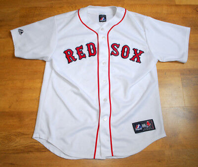 Majestic Red Sox #2 jersey (Size L)