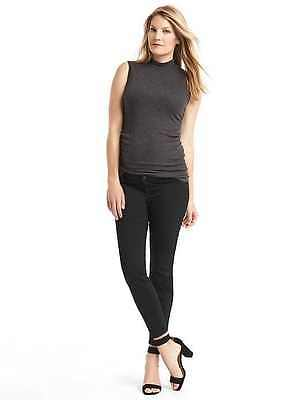 New Gap Maternity Stretch SIZE 2 (26) inset Panel Skinny Jeans Ret $75 295388