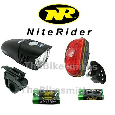 Niterider Mako 250 & Cherry Bomb 35 Lumen Head & Tail Light Set Combo DVF 5067