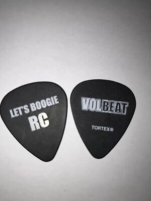 Volbeat Caggiano Lets Boogie 2017 Guitar Pick