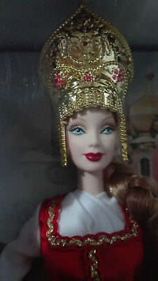 Barbie Princess Of Imerial Russia.dolls Of The World. Pink Label. Nrfb