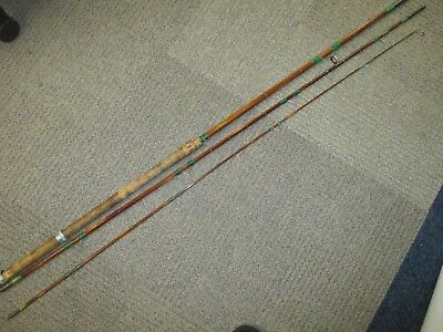 Two Vintage Split Cane Hexagonal Fly Fishing Rods (Pick up up & Save P & P)