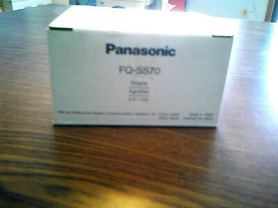 Genuine Panasonic Staple Cartridges 3 Per Box # Fq-Ss70