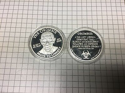 The Obombie - In Govt We Trust 1 oz .999 Silver Proof Round Coin