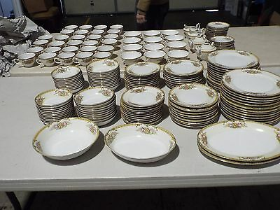 Hand painted Diamond China Set