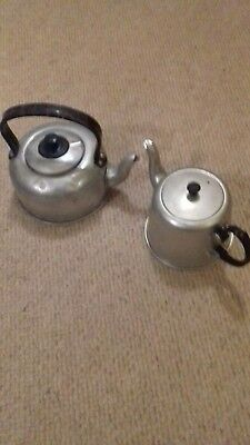 Vintage Retro small  Histon Evercool  Stove Top Kettle and coffee pot