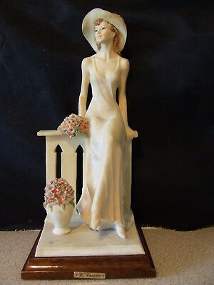 "Vittorio Tessaro Large  Figurine  ""Jacqueline .""  -  Excellent condition"
