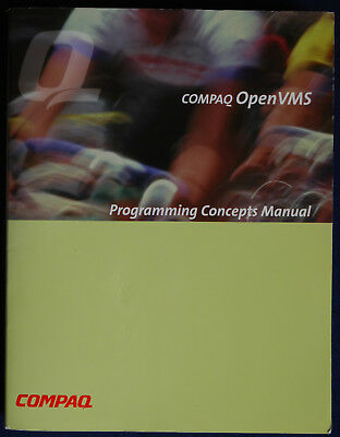 Digital Compaq OpenVMS  Programming Concepts Manual Version 7.2