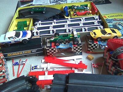 Scalextric Race Car Set. Large Collection. Excellent Original Working Condition.