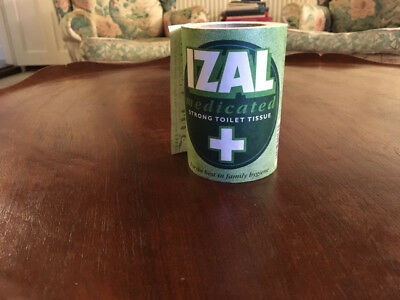 Vintage Roll of IZAL Medicated Toilet Tissue by Jeyes