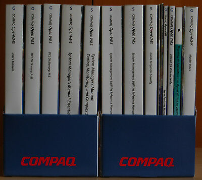 Digital Compaq OpenVMS 7.2 Base Documentation Set - hard copy