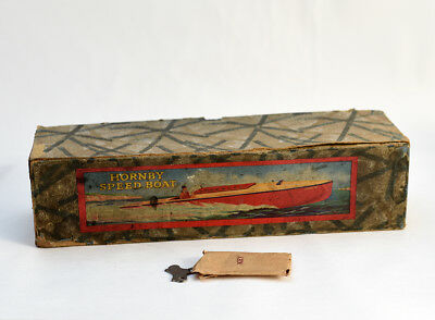 Original Box and Key for Venture Speedboat made by Hornby