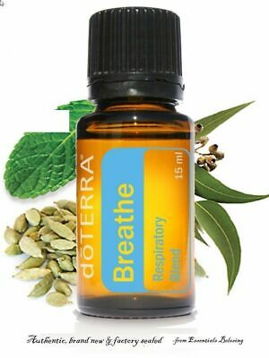 doTERRA Breathe Essential Oil 15 ml New Sealed FREE SHIPPING EXP: 2022