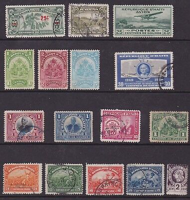 Haiti – Old Stamps
