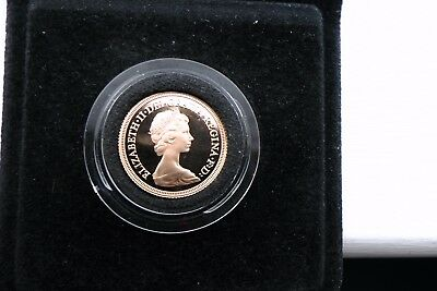 1979 Gold Proof Full sovereign coin + Box 8g 22k coin