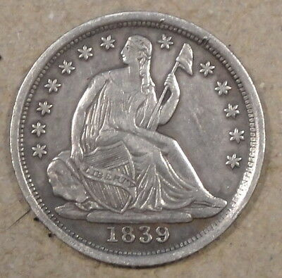 1839-O Liberty Seated Half Dime XF