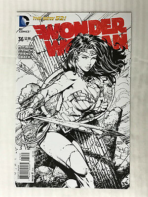Wonder Woman #36 - 1:50 Variant! VF/NM - David Finch Cover!