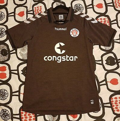 2014/15 St Pauli Home Shirt Medium M Hummel