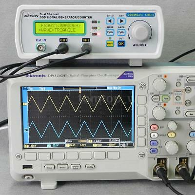 KKmoon 25MHz DDS Arbitrary Waveform Function Signal Generator Counter Kit M5L2