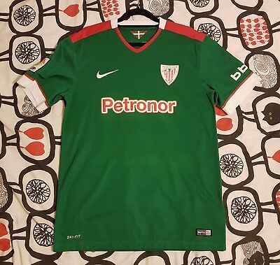 2014/15 Athletic Club Bilbao Away Shirt Medium M Nike
