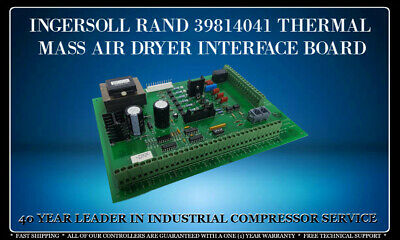 Ingersoll Rand 39814041 Thermal Mass Air Dryer Interface Board With Warranty