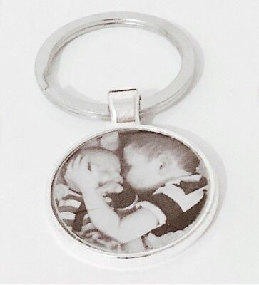 Personalised Custom Photo Keyring Chain Gift Present Birthday Valentines Day