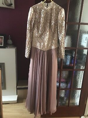 Stunning Vintage Evening Prom Dress Size 14