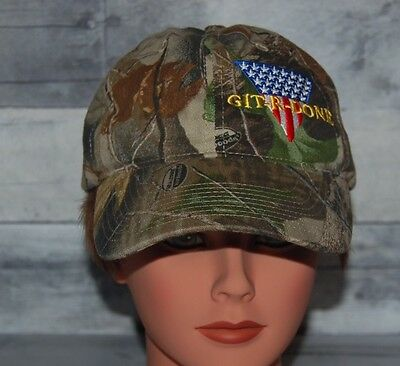 Git R Done Green Camo Hat Cap One Size Southern Comedy Larry The Cable Guy