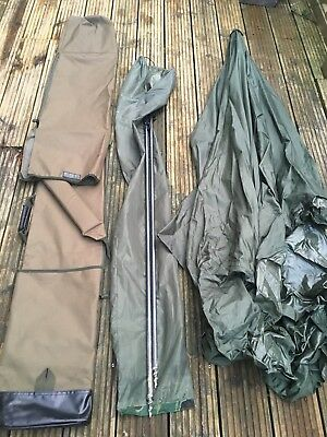 ESP 4 Rod Quiver, Daiwa Mission Brolly, Storm Rods, Unhooking Mat And Retainer