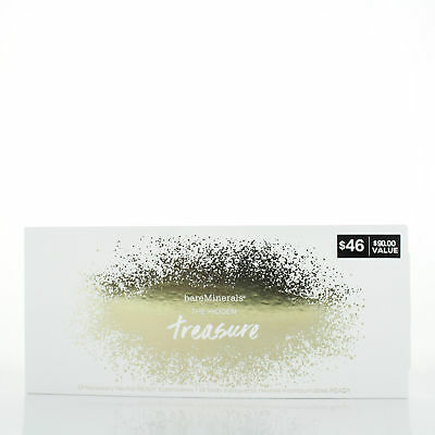 BareMinerals The Hidden Treasure 18 Necessary Neutral Ready Eyeshadows $90 Value