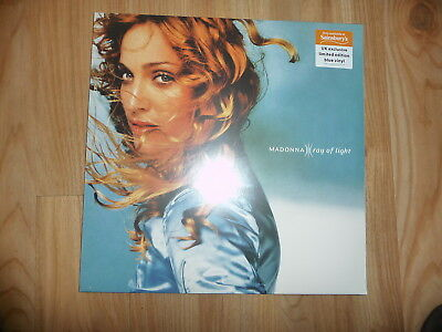 MADONNA Ray Of Light BLUE Double Vinyl LP NEW & SEALED Sainsburys Exclusive