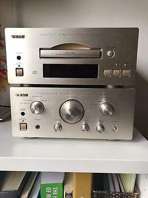 TEAC Compact Disc Player (PD-H500) and Integrated Amplifier (A-H50) - Champaign
