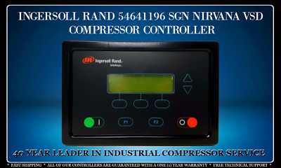 54641196 Nirvana Sgn Ingersoll Rand Nirvana Sgn Vsd Controller With Warranty