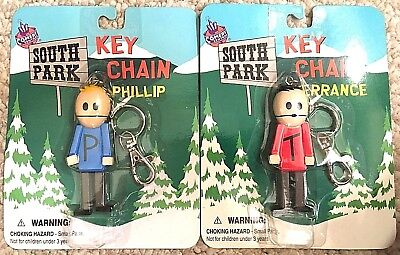 Christmas Stocking Stuffer South Park Terrance and Phillip KeyChain