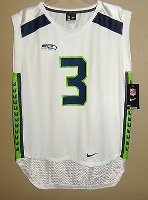 cheap for discount a862c 1c478 NIKE WOMENS SEATTLE Seahawks Russell Wilson Super Bowl 48 ...