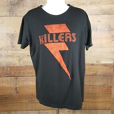 The Killers T-Shirt Size Small Black