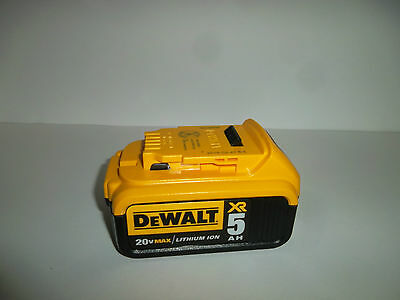 DeWALT DCB205 20V Max XR 5 Ah Battery NEW