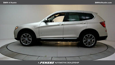 2017 BMW X3 sDrive28i Sports Activity Vehicle sDrive28i Sports Activity Vehicle 4 dr Automatic Gasoline 2.0L 4 Cyl Mineral Sil